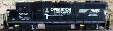 """Norfolk Southern GP-38-2  """"Operation Lifesaver"""" #3052 (HO gauge)"""