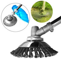 Rotating Weed Brush Wire Grout for Brush Cutter Replacement Mower Weed Eater