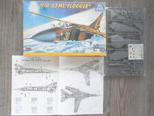 "Mig-23 Ml ""2 Russian/Afghanistan War"" Italeri 1/72"