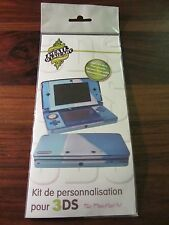 Kit Personalisation for 3DS - Skin for 3DS Blue/Blue New