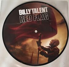 """Billy Talent-Red Flag 7"""" 1 of 2 LIMITED picture VINILE"""