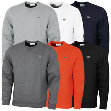 Lacoste Mens 2021 Sport Cotton Blend Ribbed Collar Fleece Sweater 29% OFF RRP