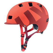 uvex cycling helmet bmx core mtb HLMT 5 bike pro red mat 55-58