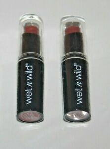 Wet n Wild Mega Last Matte Lip Color #914C Mocha Licious Lot Of 2 Sealed