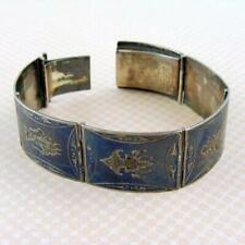 Antique Siamese Niello Bracelet