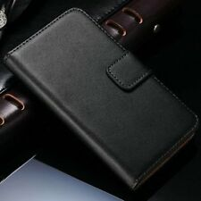 Black Pu Leather Wallet Case Cover For Samsung Galaxy Ace Style G310