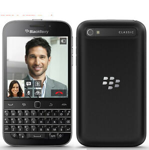 BlackBerry BB Classic blackberry Q20 Phone Dual core 8MP Camera 2GB RAM 16GB ROM