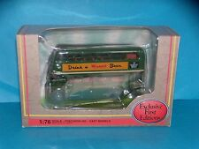 AUTOBUS - DOUBLE DECK BUS R.T LONDON TRANSPORT- EXCLUSIVE FIRST EDITIONS - 1/76