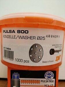 SPIT PULSA 800 RONDELLE / WASHER ø25 - 1000pcs