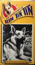 The Adventures of Rin Tin Tin: Wild Stallion/Lost Puppy (VHS) Rare 1954 episodes