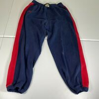 Vintage Stall & Dean Rucker Sweat Pants Mens Size 4XL Blue Red Joggers Casual