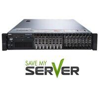 Dell PowerEdge R720 Server | 2x E5-2670 = 16 Cores | 128GB RAM | H710 | 2x PSU
