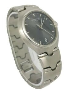 Kenneth Cole New York Mens St/Steel Bracelet Watch Date Function KC3184 A10