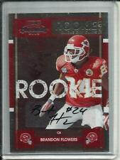 Brandon Flowers 2008 Playoff Contenders Autograph Rookie SP (#109)