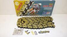 Cz Chains 520 MX Gold verstärkte Kette 118 Glieder Enduro Cross Mx Sumo