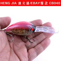 Fish Plastic Fishing Lures Bass CrankBait Crank Bait Tackle 18.2g/12cm lure KY