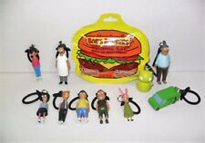 BOB'S BURGERS COLLECTORS CLIPS FIGURES COMPLETE SET OF 10 LOOSE