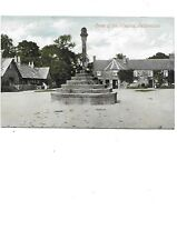 FETTERCAIRN Postcard Aberdeenshire Cross of the Mearns Colour Valentines Early