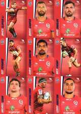 2017 Tap N Play Super Rugby Union 22-Card Base Common Team Set Reds