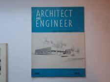 Jun 1958 Architect and Engineer San Francisco CA United Air Lines Jet Age Hangar
