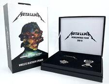 """Metallica Bluetooth Speaker""""Hardwired To Self Destruct""""+Worldwired Tour Gift Set"""