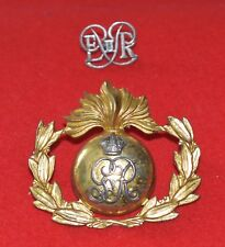 British Army. Royal Marines Band Genuine Cap Badge