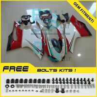 Injection Plastic Fairings Bodywork kit Ducati 1199 899 Panigale 05