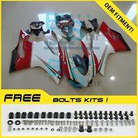 Injection Plastic Fairings Bodywork kit Ducati 1199 899 12-14 Panigale 05