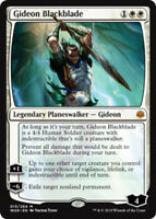 Gideon Blackblade x1 Magic the Gathering 1x War of the Spark mtg card