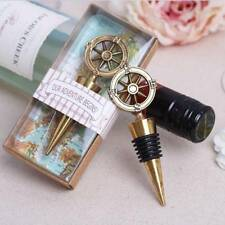 Travel Theme Wedding Party Favors Compass Wine Bottle Stoppers Souvenirs Gift