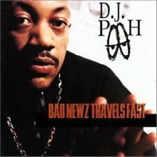 DJ Pooh: Bad Newz Travels Fast w/ Artwork MUSIC AUDIO CD Big Beat 1997 Album 15t