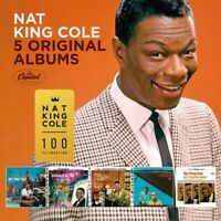 NAT KING COLE - 5 ORIGINAL ALBUMS  5 CD NEU