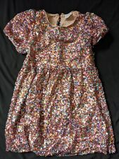 Zara Sequin Party Dress Pink Age 8