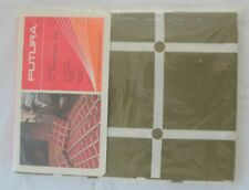 Pair Futura Olive Green White Check Pillowcases Denmark Danish Design Geometric
