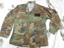 US ARMY AIR FORCE genuine issue WOODLAND camo camouflage BDU COMBAT JACKET coat