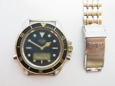 HEUER 1000 Ana-Digi 45mm Men's Swiss Watch 980.027 Not works repair (Tag Heuer