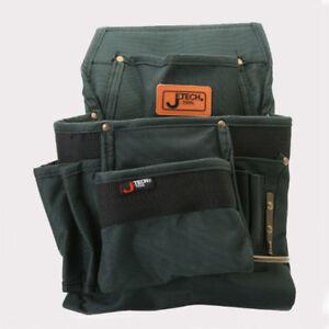 Seven Pockets Nylon Electrician tool Carpenter Nail & Tool Pouch Bag waist bag