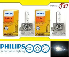 Philips HID Xenon D3S Two Bulbs Head Light Replacement Plug Play High Low Beam