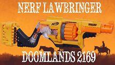 *NEW* Nerf Doomlands 2169 Lawbringer Blaster Gun With 12 Dart Rotating Drum