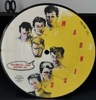 """Madness - Tomorrow's Just Another Day - Picture Disc - 7"""" Vinyl Record Single NM"""