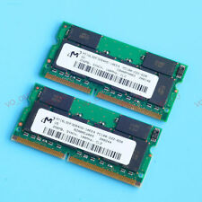 New 512MO 2x 256MO PC100 100 MHz SDRAM 144PIN laptop Notebook memory SO-DIMM RAM