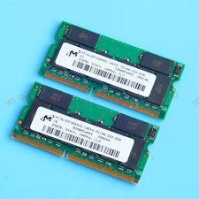 New 512MO 2x 256MO PC100 100 MHz SDRAM 144PIN laptop Notebook memory SO-DIMM RAM