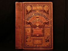 1881 1ed Jules Verne Michel Strogoff Adventure Novel Russia French Illustrated