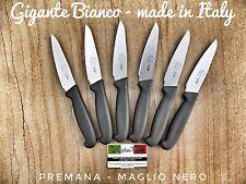 Set sei coltelli da bistecca Fiorentina - modello Gigante Bianco made in Italy
