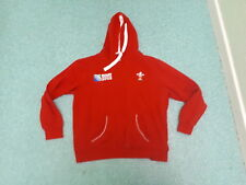 Wales Rugby Union Large Mens Red Hoodie