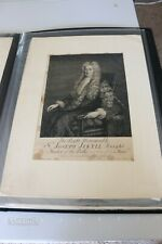 Original The Right Honourable Sr Joseph Jekyll Knight Vintage Etching Print