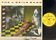 J GEILS BAND Freeze Frame LP Lyrics Peter Wolf Magic Dick Randy Brecker 1981