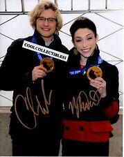 "MERYL DAVIS & CHARLIE WHITE ""OLYMPIC GOLD MEDALIST"" SIGNED 8X10 PHOTO ""PROOF"""