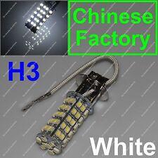 Xenon White 68 SMD Car H3 6000K LED Bulb Head Light Fog Daytime Lamp Vehicle 12V