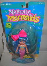 #7487 RARE NOC Playskool My Pretty Mermaids Doll